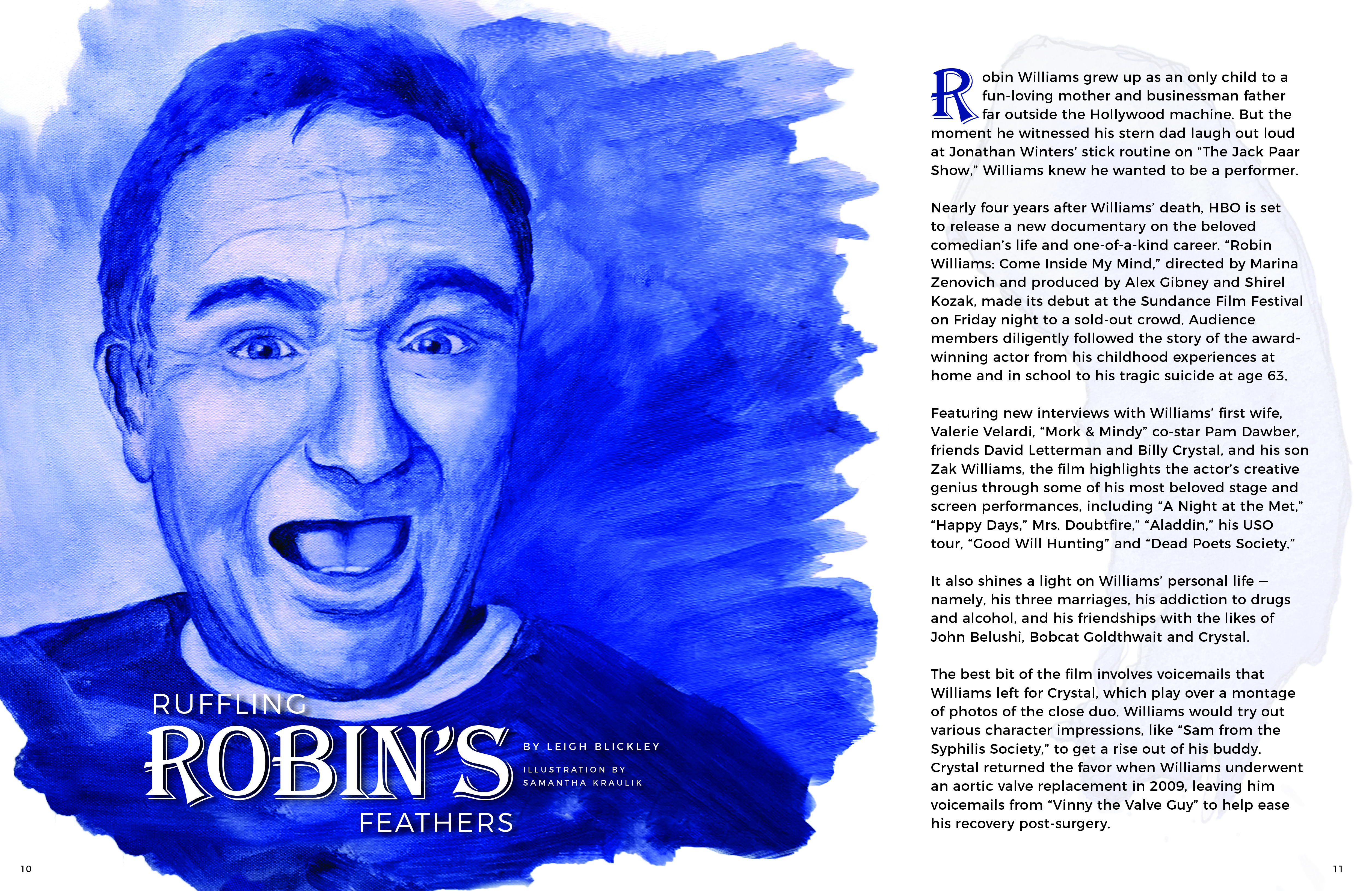 Good bye, Robin - Leaving drugs behind?